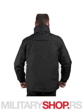 3u1 Crna zimska jakna sa uloskom Pentagon Gen V K01002