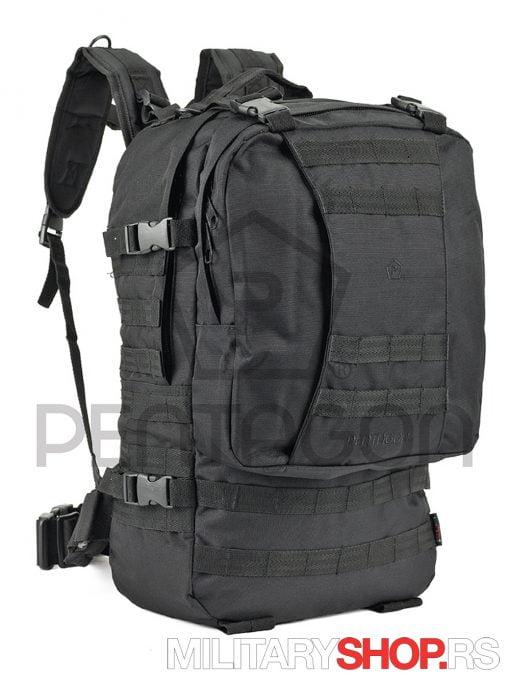 Pentagon-ranac-Tactical-Assault-Crni