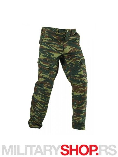 CDU PANTALONE PENTAGON GREEK LIZZARD