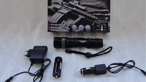 Lampa Police cree led 500 lumena XQ 8373
