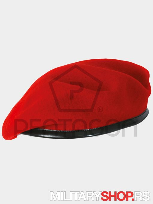 Francuska Beretka Crvena
