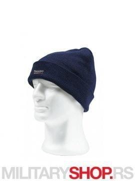 Kapa sa postavom Thinsulate Plava