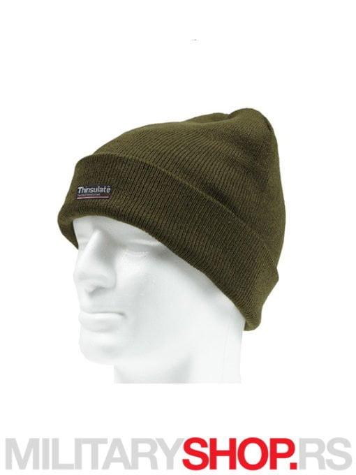 Kapa sa postavom Thinsulate Zelena