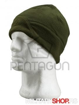 Kapa od flisa Zelena