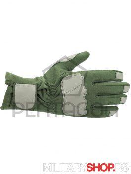 Pentagon Takticke rukavice Warrior Zelene