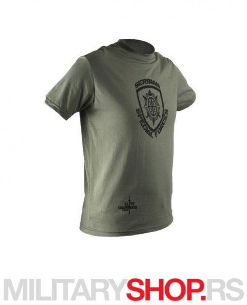 Majica ŽANDARMERIJA zelena