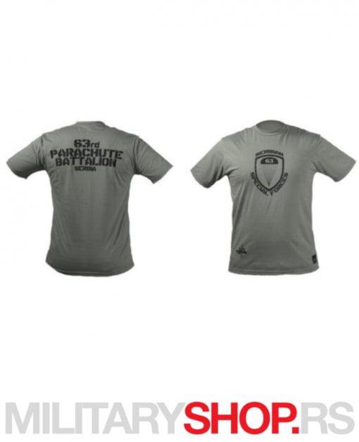 Majica 63ća padobranska brigada zelena