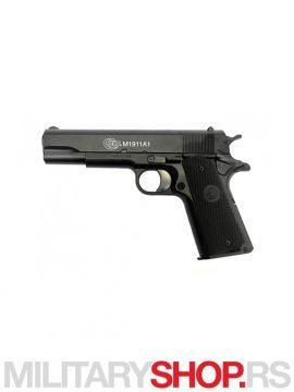 AirSoft Replika pištolja Colt 1911 A1 HPA metal slide