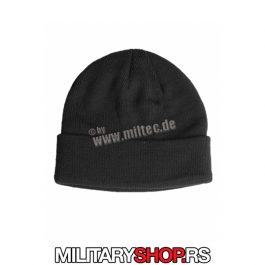 Military kapa crna