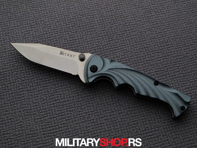 Noz CRKT tiny tighe breaker aqua blue