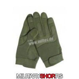 Military rukavice zelene