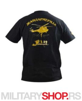 Majica ŽANDARMERIJA - crna