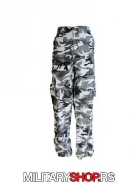 Army maskirane pantalone urban letnje