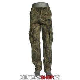 Lovacke pantalone maskirane za prolece