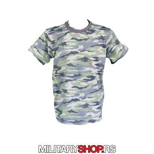 Army majica maskirana plava