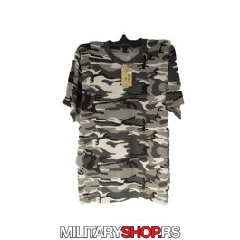 Army majica urban crno bela