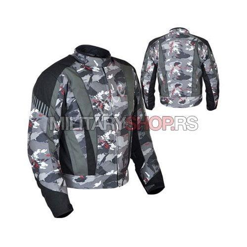Kamuflazna motoristicka jakna