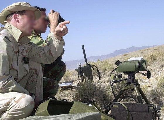 Kontrašpijunaže, SAS, Sirija