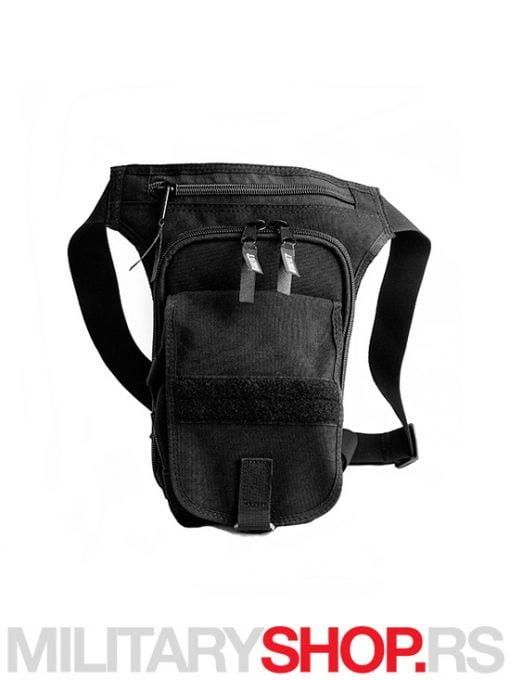 Crna torbica za skriveno nošenje oružja
