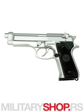 REPLIKA PISTOLJA AIR SOFT SILVER HEAVY WEIGHT GAH-9902S
