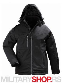 442 EN GEN V takticka vodonepropusna zimska jakna crna