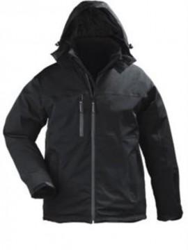 A GEN V takticka vodonepropusna zimska jakna – crna
