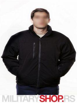 GEN V takticka vodonepropusna zimska jakna crna (1)