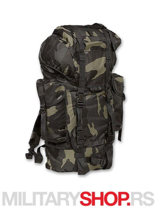 Tamno maskirni ruksak Brandit 65 DC