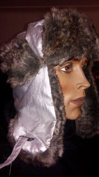Zimska subara sa postavom od krzna boja Srebrna
