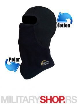 Crna podkapa Winter Polar-Cotton