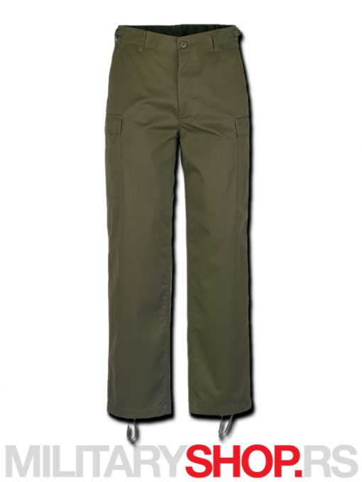 Maslinaslo zelene Brandit pantalone US Ranger