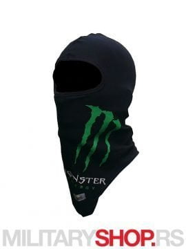Pamučna crna potkapa Monster