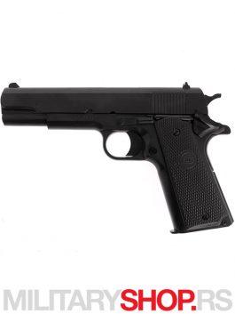 Replika pištolja sa oprugom STI M1911 Classic hop up
