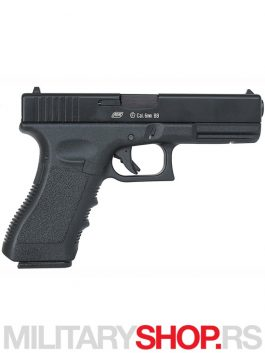 Replika pistolja GBB G17 Hop up metalo plastika