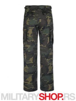 Woodland-maskirne-Pantalone-Brandit-ranger-back