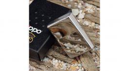 Zippo upaljac Vintage High Polish Chrome Slashes1