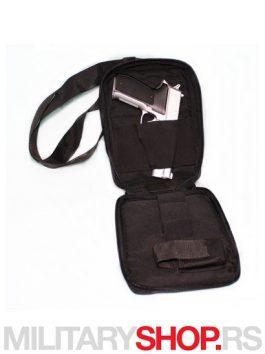 Uspravna torbica za sriveno nošenje pištolja