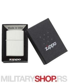 Zippo upaljač Beli matte