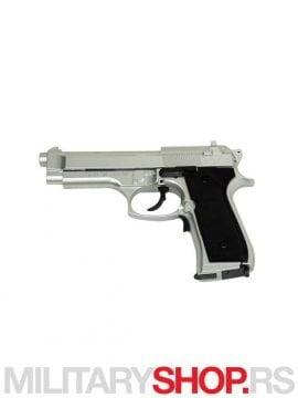 Elektricna replika pistolja Beretta 92 Elektrik srebrni