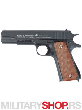 Replika pištolja - Colt 1911 full metal Cybergun 180121