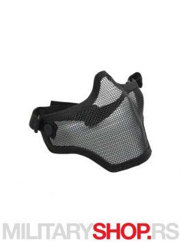 Zaštitna maska za airsoft crne boje