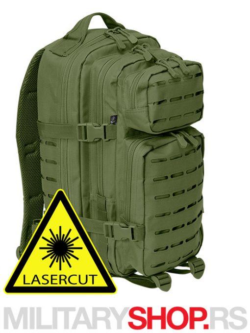 Brandit Cooper ranac Lasercut 30L ZELENI