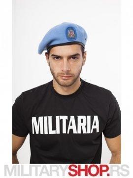 Svetlo plava Francuska kapa Beretka