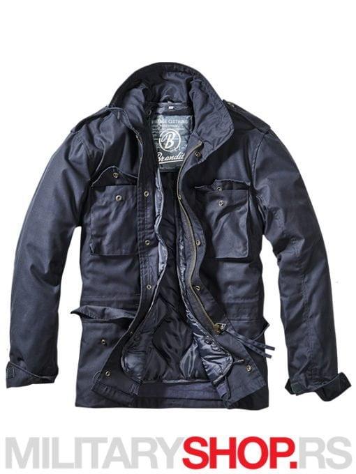 M65 Vijetnamka Brandit jakna sa uloskom teget boje
