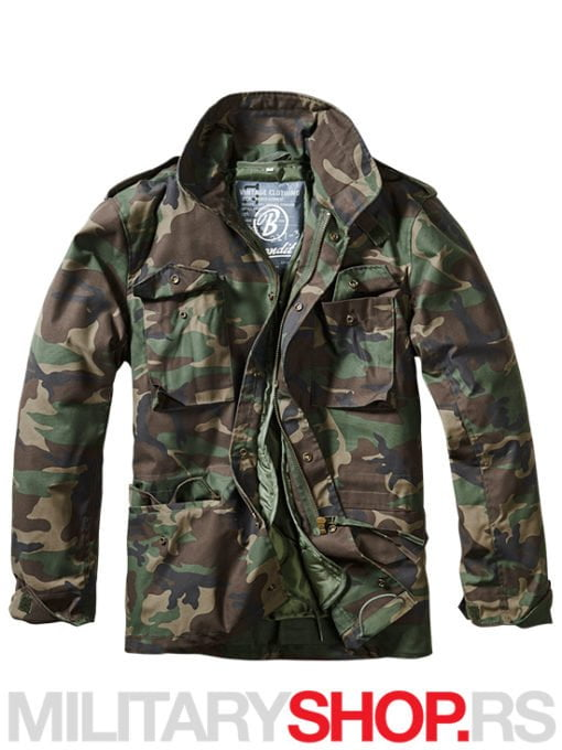 Vijetnamka M65 maskirna woodland jakna