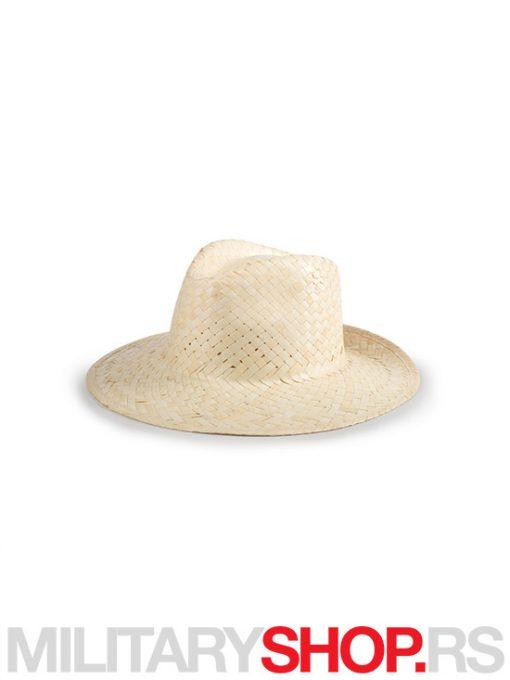 Slameni šešir Erneso bež boje