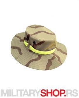 Safari maskirni vodootporni šešir