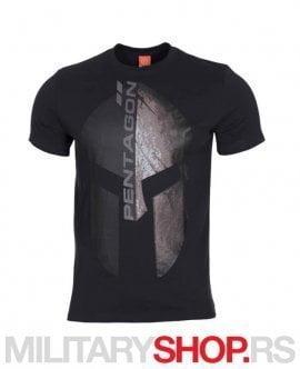 Eternity crna pamucna majica Pentagon