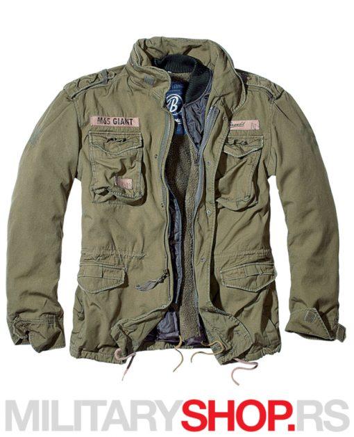 Brandit M65 Giant Olive jakna