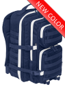 Brandit ranac 50L plavi sa mole sistemom i belim ziperom